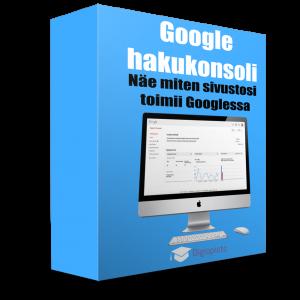 Google hakukonsoli -verkkokoulutus