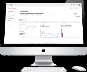 Google Search Console -koulutus