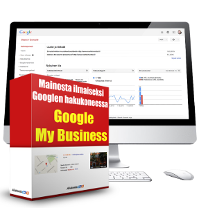 Google Search Console ja Google MyBusiness -bonuspaketti
