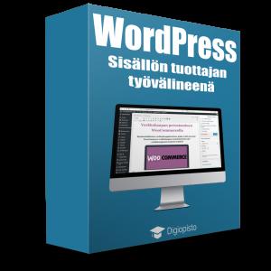WordPress sisällön tuottajan työvälineenä -verkkokoulutus