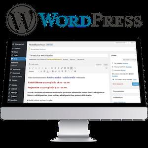 WordPress sisällöntuottajan työvälineenä -verkkokoulutus