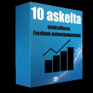 10 askelta tulokselliseen Facebook-mainoskampanjaan -verkkokoulutus