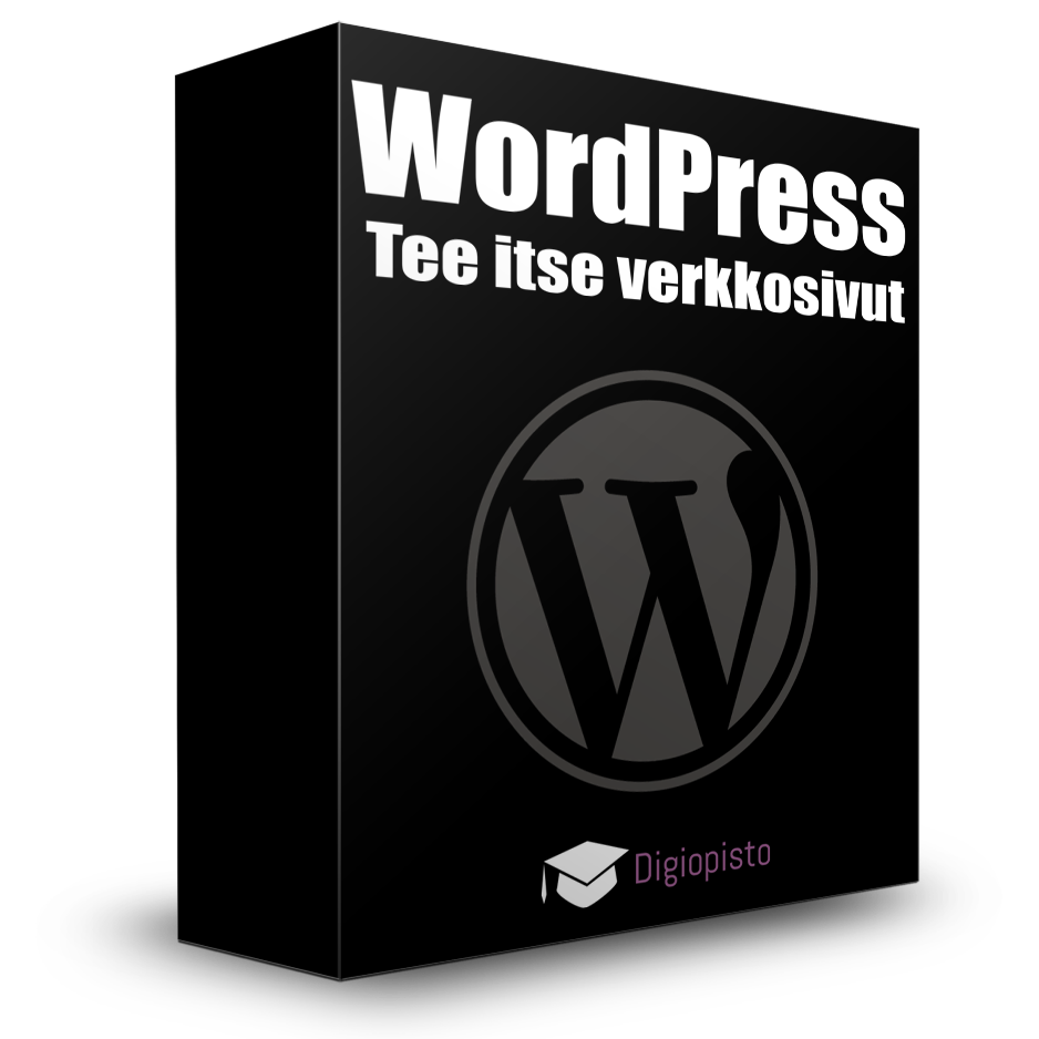 Tee itse kotisivut WordPressillä  WordPress koulutus