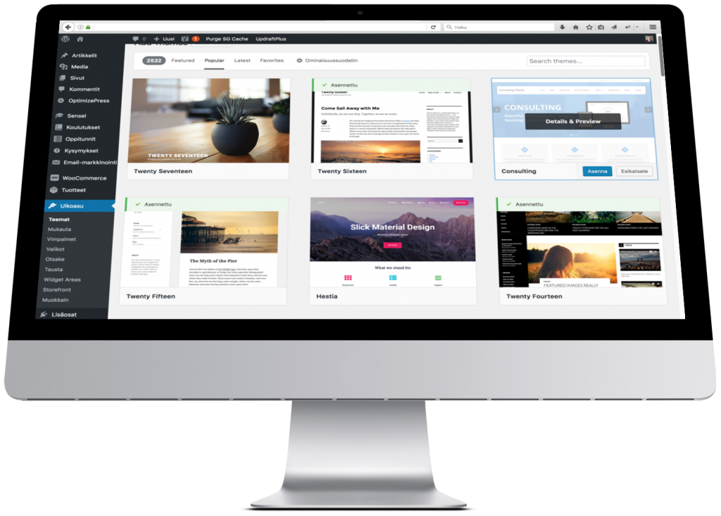 WordPress-koulutus - WordPress tee itse verkkosivut