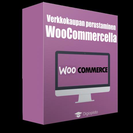 Verkkokaupan perustaminen WooCommercella -verkkokoulutus