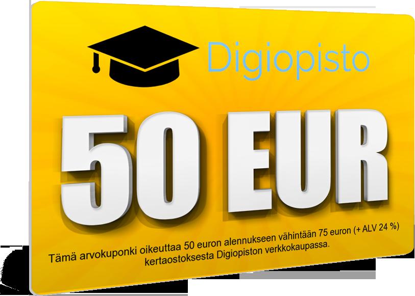 50€ alennuskuponki