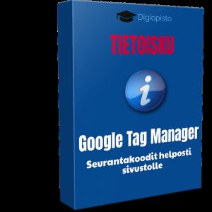 Google tag manager seurantakoodit helposti sivustolle