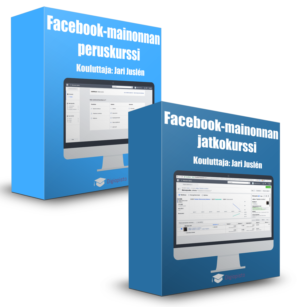 Facebook-mainonta Special -koulutuspaketti