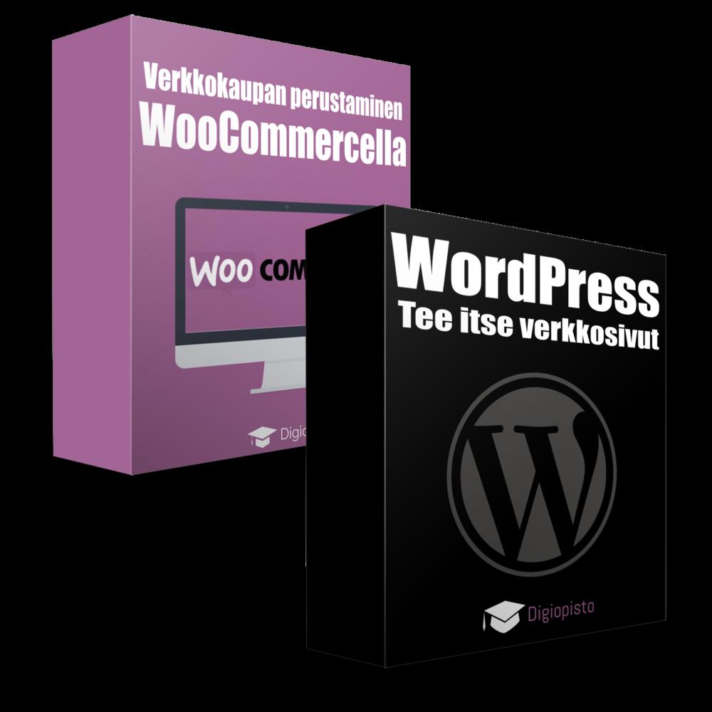 Woocommerce Special -koulutuspaketti