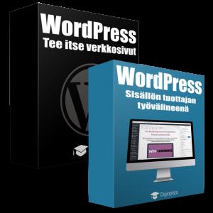 Wordpress-koulutuspaketti